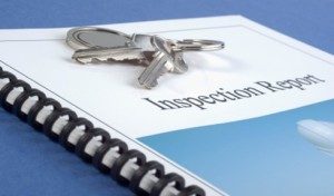 Brochure of Inspection Report, Home inspection recommended for buyers